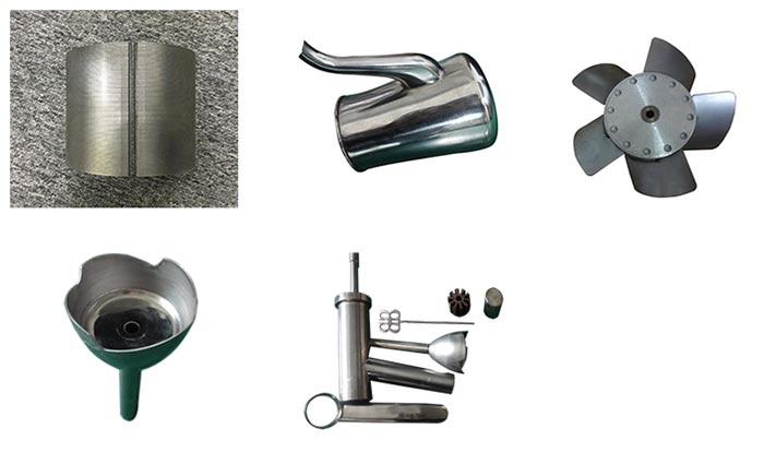 光纤传输激光焊接机焊接产品展示
